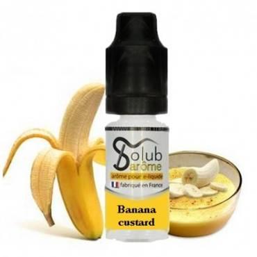 6212 - Άρωμα Solub Arome BANANAS CUSTARD 10ml (μπανάνα με κρέμα)