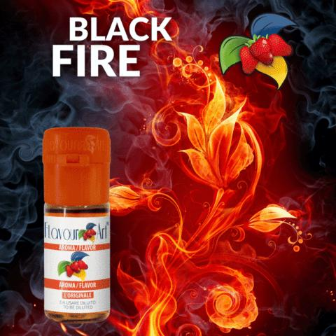 6241 - Άρωμα Flavour Art BLACK FIRE 10ml (καπνικό)