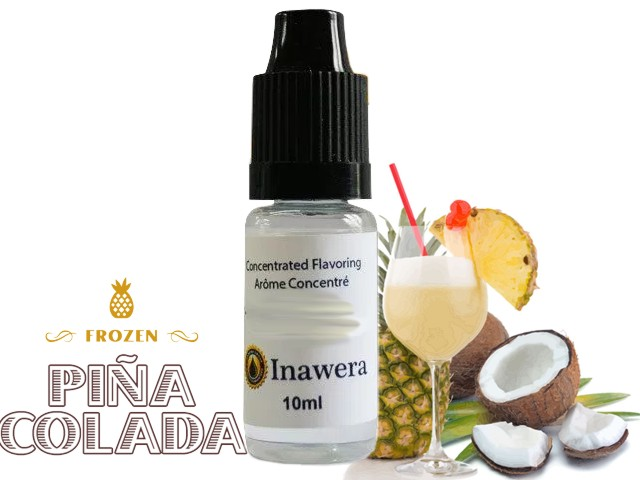 Άρωμα inawera PINA COLADA 10ml (ρούμι ανανά κρέμα και καρύδα)