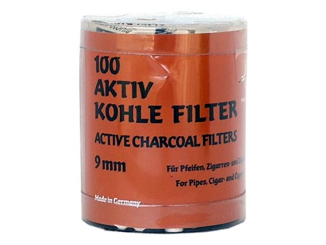 6290 - Φίλτρα ενεργού άνθρακα 100 White Elephant 9mm made in Germany