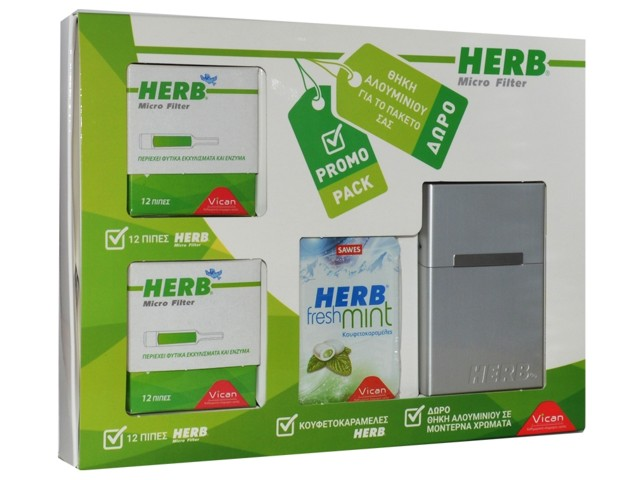 6334 - Herb Promo-Pack (με ταμπακιέρα κανονική)