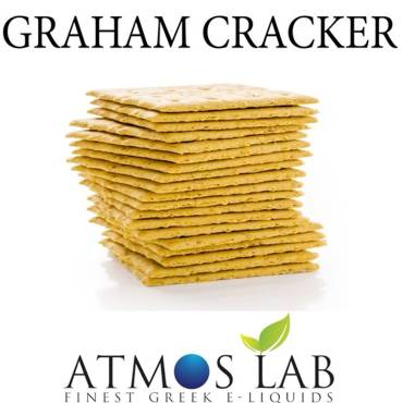 6348 - Άρωμα Atmos Lab Bakery Premium GRAHAM CRACKER (κράκερ GRAHAM)