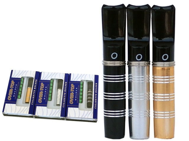 6368 - Πίπα τσιγάρου OVER TOP HOLDER 0-166 8mm (για κανονικό τσιγάρο)
