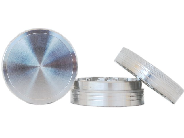 6437 - Τρίφτης καπνού PLAIN FOR LOGO by CNC 50mm 04846 (αλουμίνιο)