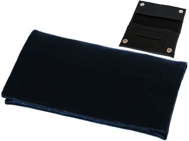 6506 - Καπνοθήκη SMOKA CARTO BLACK SPOT 730 για καπνό χαρτάκια φιλτράκα και αναπτήρα