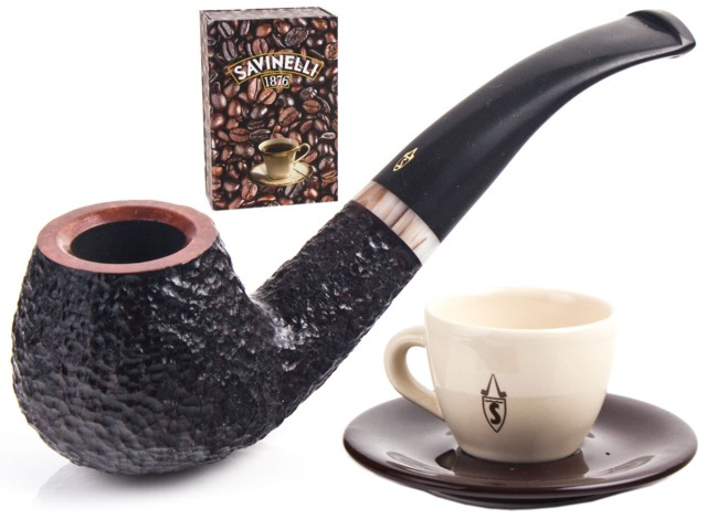 6517 - SAVINELLI ESPRESSO Limited Edition Rusticata MODEL 645 (Cod.P327Z) 9mm