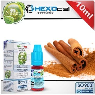 Natura CINNAMON από την Hexocell (κανέλα) 10 ml
