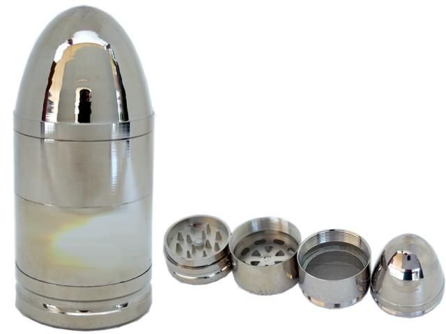 6679 - Τρίφτης καπνού GRINDER BULLET 40mm 12155