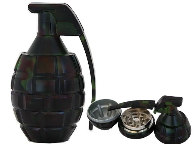 6685 - Τρίφτης καπνού GRINDER GRENADE 50mm 12014