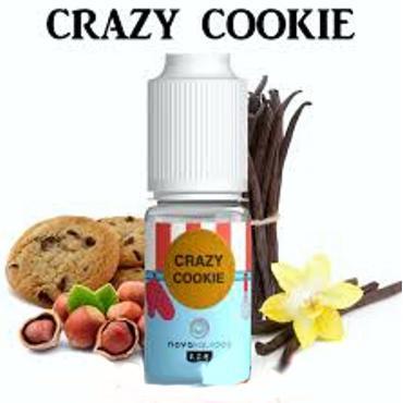 6700 - Άρωμα Nova CRAZY COOKIE 10ml (μπισκότο,φουντούκι και βανίλια)