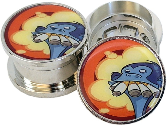Τρίφτης καπνού BUDDY MT2 METAL GRINDER MONKEY_52mm 18893 (3 parts)
