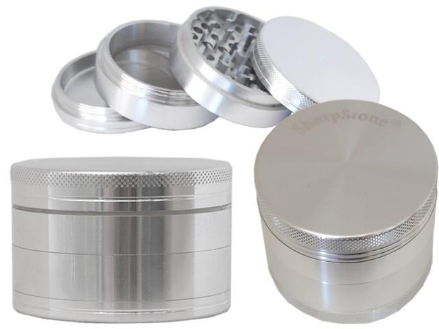 6714 - Τρίφτης καπνού GRINDER SHARPSTONE by CNC 53mm 12375 (αλουμίνιο)