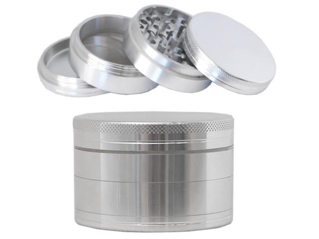 6715 - Τρίφτης καπνού GRINDER HAMMERCRAFT by HBI 55mm 00899 (αλουμίνιο)