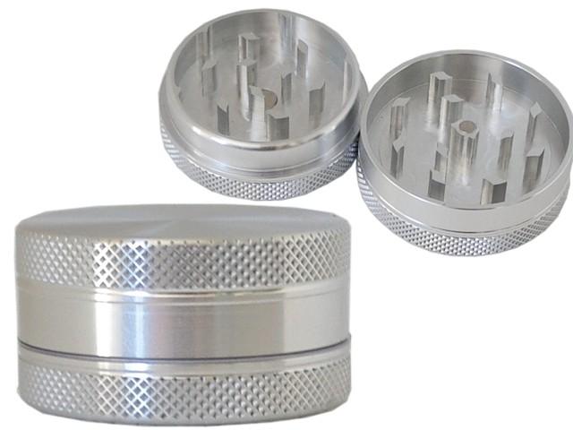 6718 - Τρίφτης καπνού GRINDER SHARPSTONE AL 15 CNC ALUMINUM by CNC 38mm 12374 (2 parts)