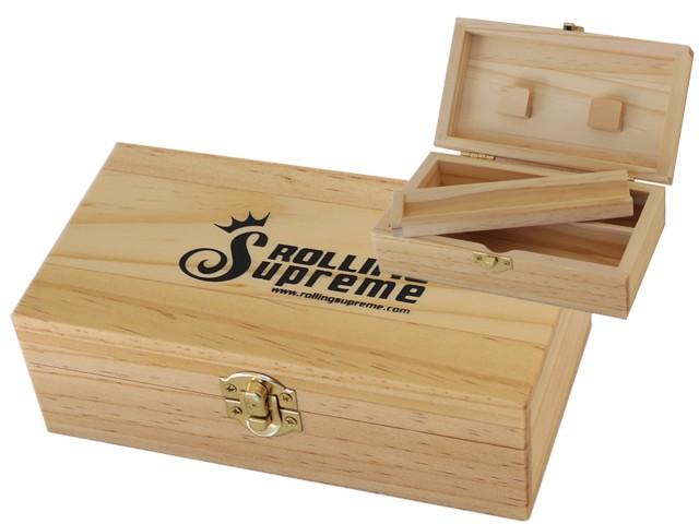 6722 - Rolling Box Rolling Supreme ξύλινο για στριφτό medium T2 12241