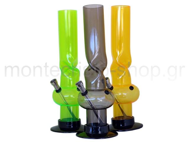 6749 - Μπονγκ Acrylic ICE BONG ACC04 Waterpipe 31cm Colors