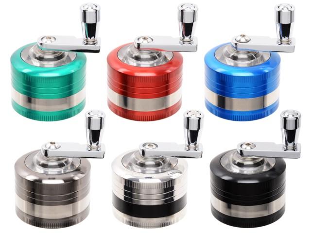 6772 - Τριφτης καπνού ATOMIC-Mill Grinder 40mm 0212468 (μύλος 6 χρώματα)