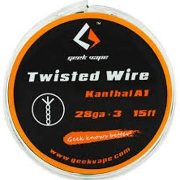Σύρμα Geek Vape Twisted Wire Kanthal Triple A1 (28ga*3)