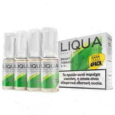 Liqua BRIGHT TOBACCO 4*10ml (ήπιο καπνικό)
