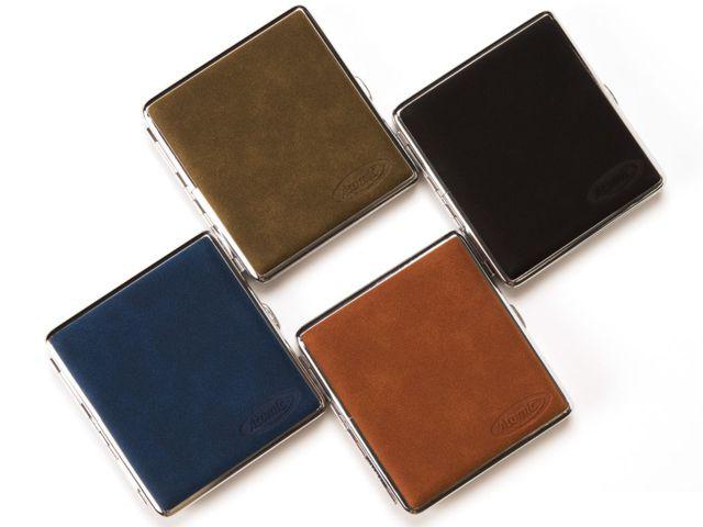 7034 - Ταμπακιέρα για κανονικά τσιγάρα ATOMIC Case KS Alcantara Classic 0410626 (συνθετικό σουέτ δέρμα)