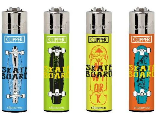 7041 - Clipper CP11RH SKATEBOARD BI Large αναπτήρας 104352020