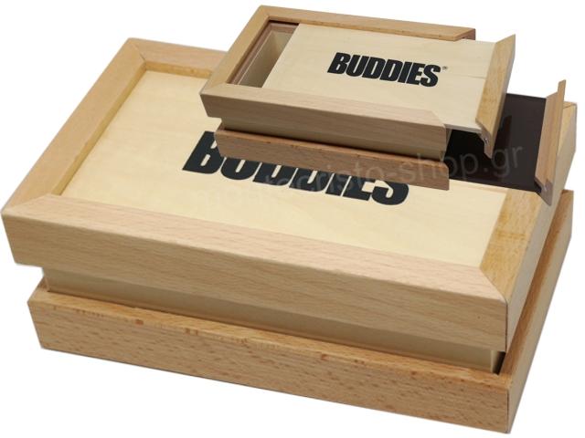 7180 - Κόσκινο WODDEN BUDDIES BOX SIFTER LARGE 12483
