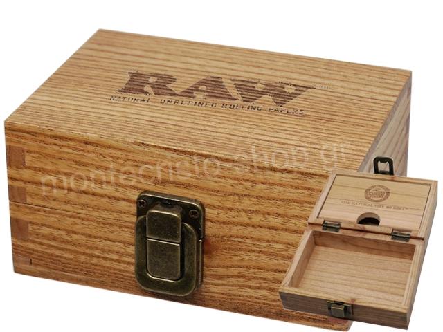 7181 - RAW WOODEN BOX 12681