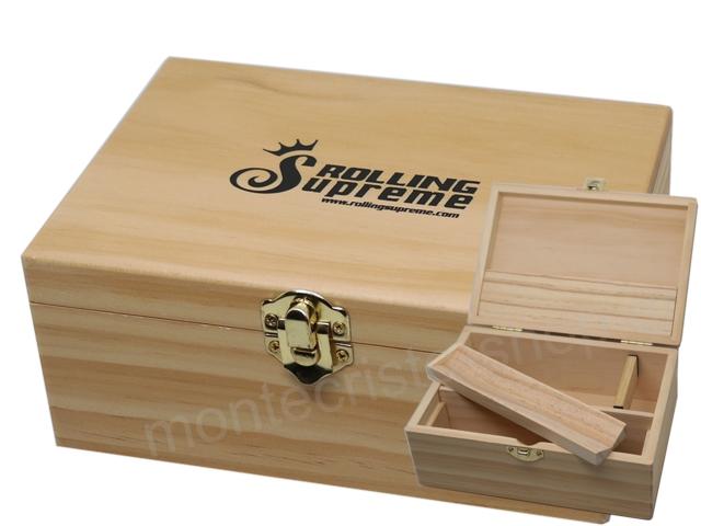 7183 - Rolling Box Rolling Supreme ξύλινο για στριφτό medium 13141