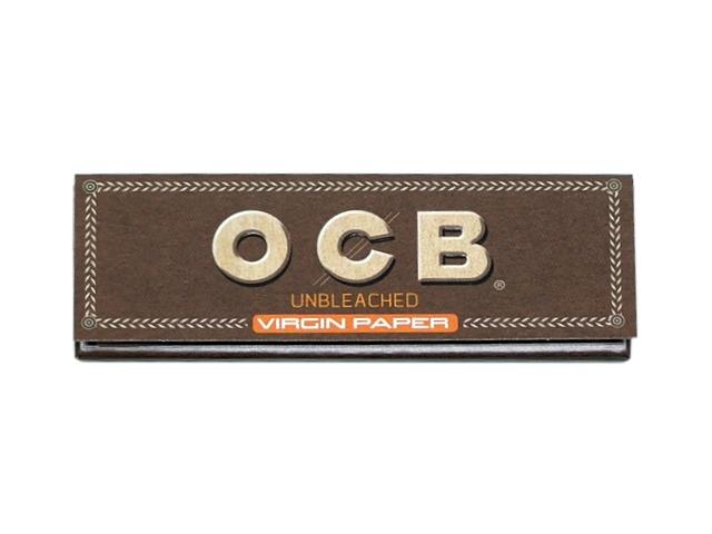 7184 - Χαρτάκια στριφτού OCB VIRGIN UNBLEACHED (ακατέργαστο)