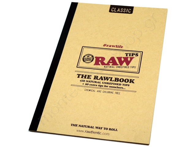 Τζιβάνες RAW Rawlbook Classic Tips