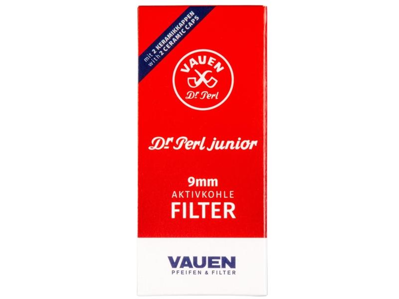 Φίλτρα πίπας Vauen Dr Perl Junior 9mm - 10 τεμάχια