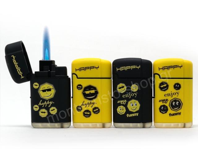 Αντιανεμικός αναπτήρας B-FLAME TURBO JET FLAME WSF-603 SOFT HAPPY