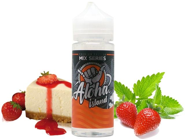 7684 - ALOHA ISLAND CHEESECAKE WITH STRAWBERRY 80/120ML (τσίζκεικ φράουλα)