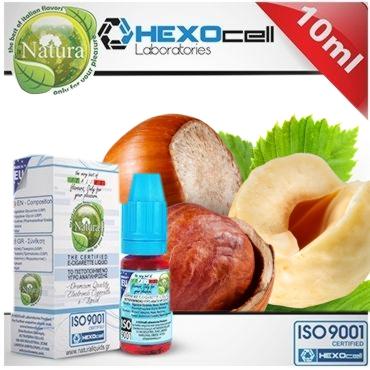 Υγρό αναπλήρωσης Natura HAZEL & CRETEL από την hexocell 10ml (φουντούκι)