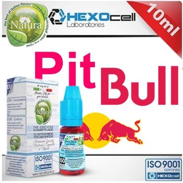 7720 - Υγρό αναπλήρωσης Natura PIT BULL από την hexocell 10ml (ενεργειακό ποτό)