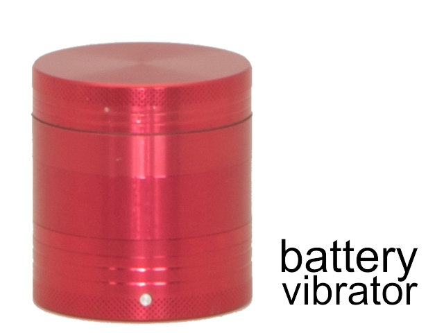 Τρίφτης καπνού CONEY CO-Vibra Grinder 53mm Red (4 parts) 0212385