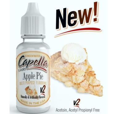 7854 - Άρωμα Capella Apple Pie V2 13ml (μηλόπιτα)