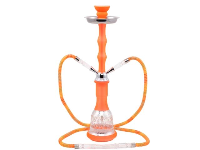 7880 - Ναργιλές Atomic Hookah 45cm Neon Orange + 0230513
