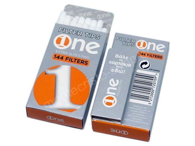 7913 - Φιλτράκια στριφτού One 5.7mm Extra Slim 144