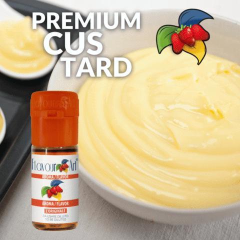 Άρωμα Flavour Art PREMIUM CUSTARD (κρέμα βανίλια) 10ml