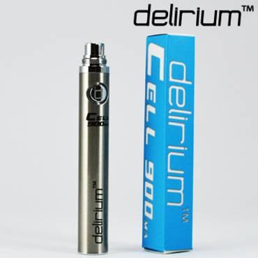 8020 - Μπαταρία eGo DELIRIUM CELL eGo 900mA ασημί