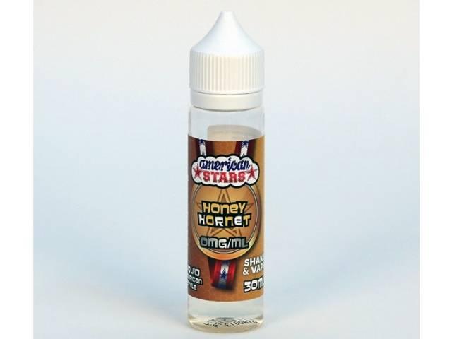 8105 - American Stars HONEY HORNET Shake and Vape 30ml / 60ml (γάλα,καρύδια,μπανάνα,δημητριακά και μέλι)
