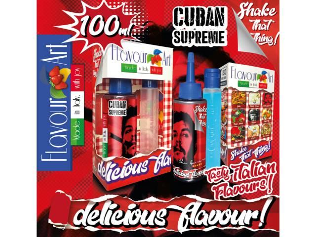 FLAVOURART MIX AND SHAKE CUBAN SUPREME 100ML (καπνικό)