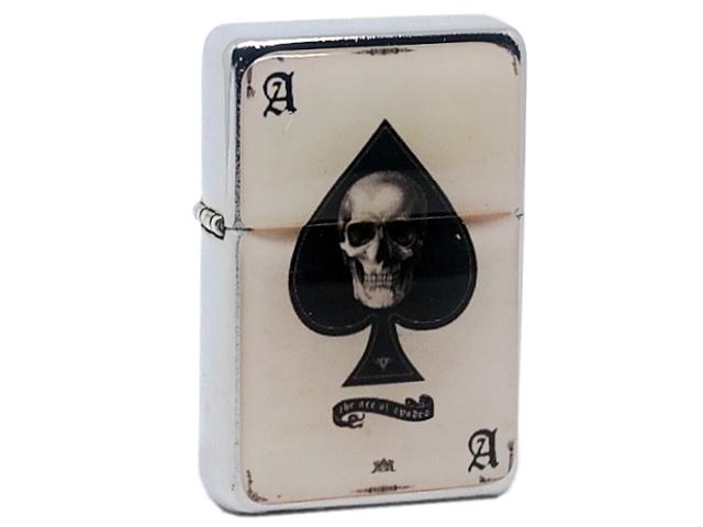 8208 - Αναπτήρας Tristar Skull Card