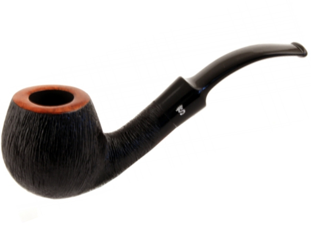 8459 - Stanwell Pipe Brushed Black 84 9mm