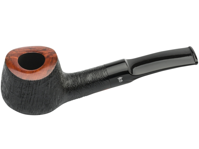 8462 - Stanwell Brushed Black 11 9mm Pipe