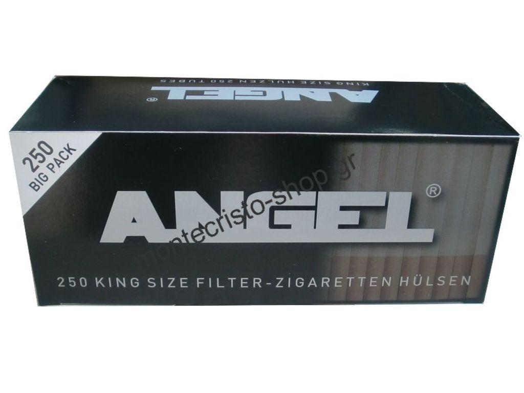 Άδεια τσιγάρα ANGEL tubes 84mm κουτί με 250 άδεια φίλτρα
