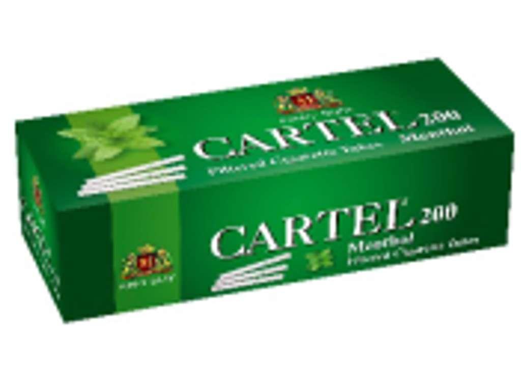 Άδεια τσιγάρα Cartel Menthol 200