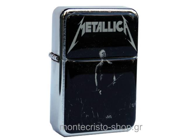 Αναπτήρας TRISTAR πέτρας με φιτίλι Metallica