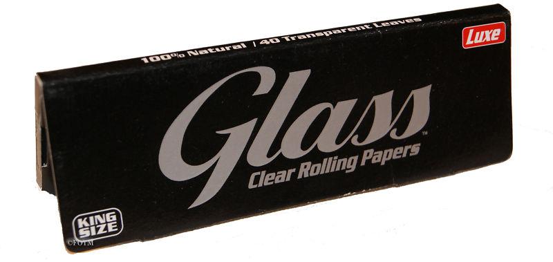 Χαρτάκια Glass Διάφανα